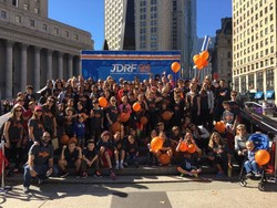 AOSJ Families and Friends Walk in Support of JDRF's Mission to End Type 1 Diabetes