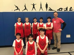 AOSJ Cardinals Basketball Team On Winning Streak