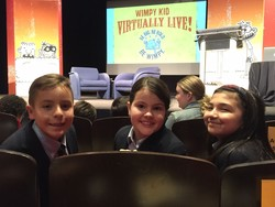AOSJ Students Attend Scholastic's Announcement Event for the 11th Diary of a Wimpy Kid Novel