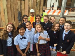 7th Grade Students Visit Archaeological Dig Near Washington Sq Park