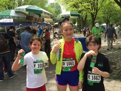 AOSJ Students Participate in NYRR's Healthy Kidney Race