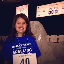 AOSJ 5th Grader Makes Third Round of NYC Spelling Bee